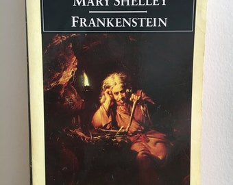 Frankenstein by Mary Shelley (1986 Edition)