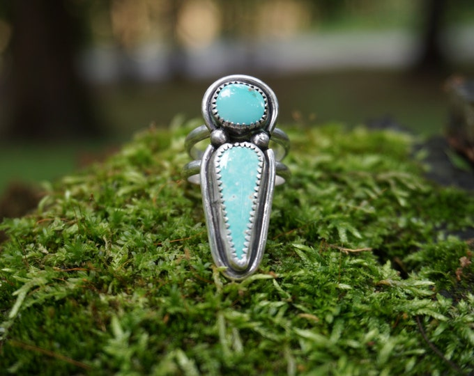 Blue Goddess Turquoise Ring