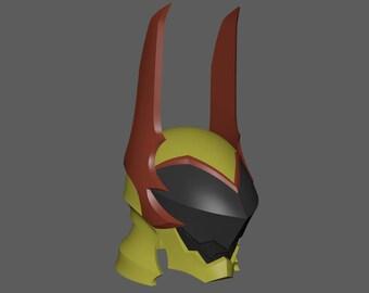Terra's Helmet 3D Printable