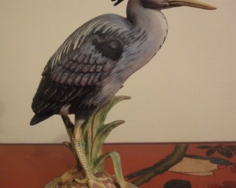 common Heron by The Chancery Collection england standing 7 1/2 inches