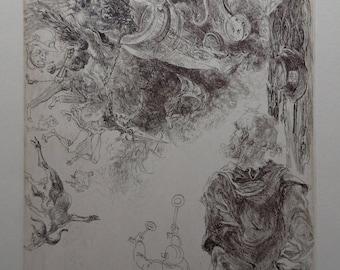 St Jacobus and the demones of Hermogenes