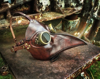 Classic Plague Doctor Steampunk mask