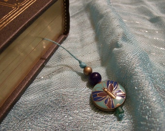 Butterfly Charm Book Thong Bookmark - Hardcover and Paperback