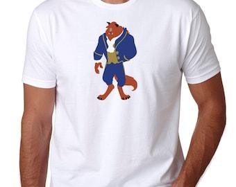 Beast Shirt -  The Beast - Beauty And The Beast - Disney Prince - Disney Shirt - Disney Men's Shirt