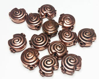 Bali Copper Beads