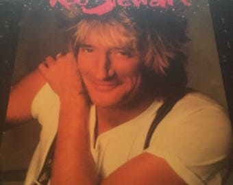 Rod Stewart- Out of Order Tour Concert Program 1988 With Stub