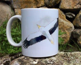Mug white Vulture