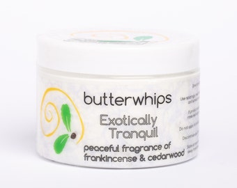 Exotically Tranquil Organic Body Butter