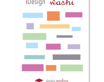 Washi Fillable Keynote Shapes