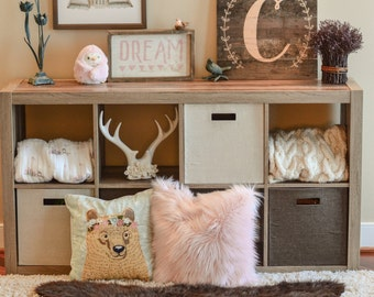 Bear Rug Nursery, Faux Bear Rug , woodland nursery, Baby room decor