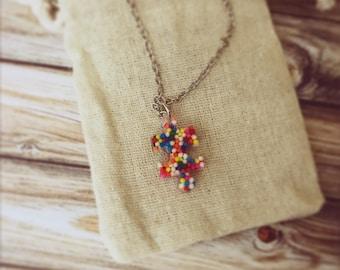 Autism Awareness Month Puzzle Piece Necklace