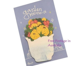 Garden Memo-It 'Blue Post-It Sticky Notes