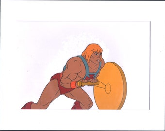He-Man Masters of the Universe Production Cell and Drawing Filmation 1980s ln