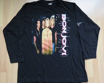 BON JOVI  1996 tour shirt longsleeve size XL rare rock