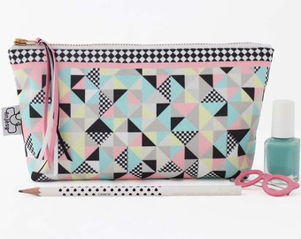 Cute makeup bag, Cosmetic bag by ANJESY design
