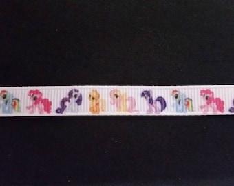 "pony ribbon grosgain 3/8"" hair craft scrapbooking card making"