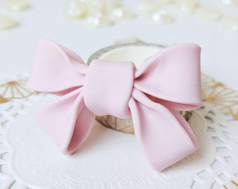 Kawaii Polymer Clay Bow