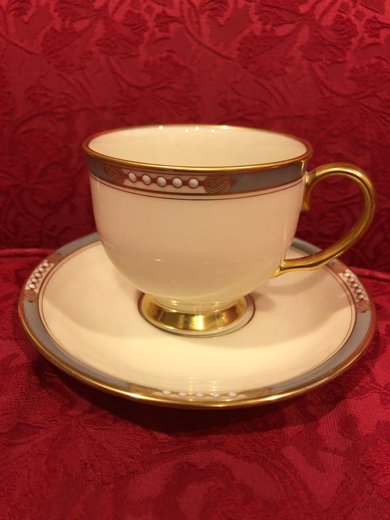 FREE SHIPPING-Lenox-McKinley- Cup and Saucer