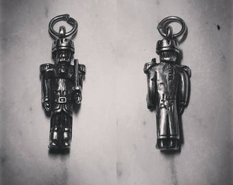 Sterling Silver Nutcracker Christmas Charm