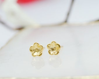 forget me not earrings, Flower earrings, forget me not gifts, flower earrings stud, wedding earrings,