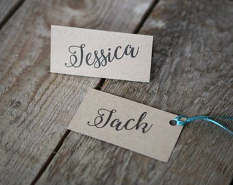 Kraft Place Name Cards