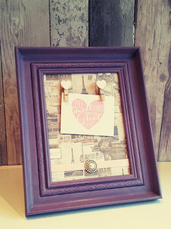 note holder frame, framed note holder, photo peg frames, peg frame ...