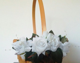 Wedding Basket, Flower Girl Basket