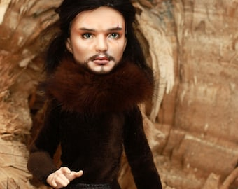 OOAK Monster High doll  Jon Snow
