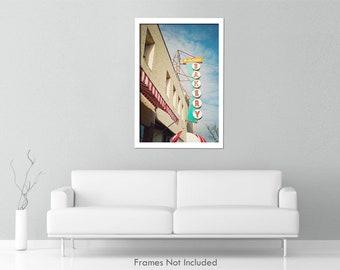 Freedmans Bakery, Bakery Sign Photo, Belmar NJ, Jersey Shore, Vintage Bakery Sign Photo