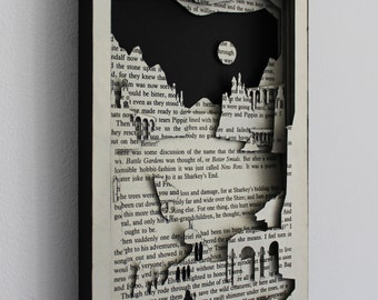 Another Journey - 'Lord of the Rings' Hand Cut Silhouette Scene