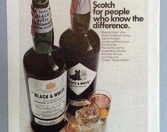 1967 Black & White Scotch Whisky