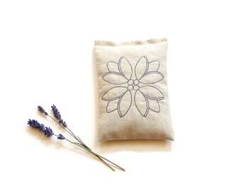 Lavender sachet bag, customize sachet, aromatherapy, scented sachet pillow drawer freshener, gift for grandma
