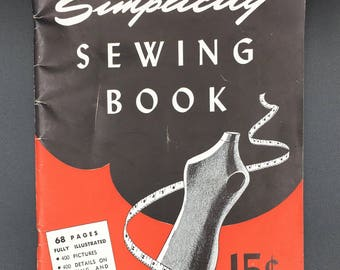 Simplicity Sewing Book  Vintage Booklet - (SW082ET)