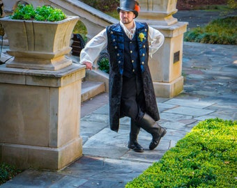 Groom, French Wedding, Beauty and The Beast, Prince Charming, Steampunk, Victorian, Renaissance, Pirate, Halloween, Costume