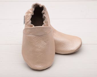 HOT SALE! Summer baby shoe soft sole leather Toddler Infant Baby shower gift Girls Boys Haussons cuir enfant Zapatos cuero bebé Handmade