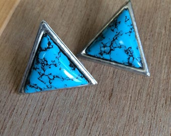Turquoise vintage earrings