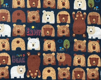 Bears- Navy- Cosmo- Japanese Import