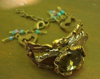 Bracelet Art Nouveau Fillagree Cuff