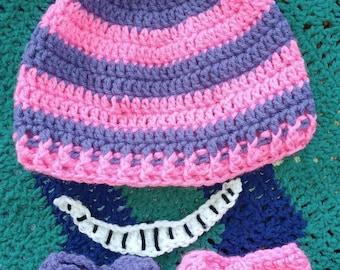 Cheshire cat inspired hat