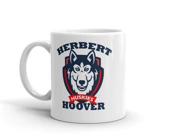 Husky Fight Song Paw Mug