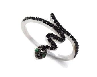 Silver Snake Ring, Snake Ring, Serpent Ring, Snake Jewellery, Reptile Ring, Silver Serpent Ring, Snake Rings, Silver Animal Ring, 925 Silver