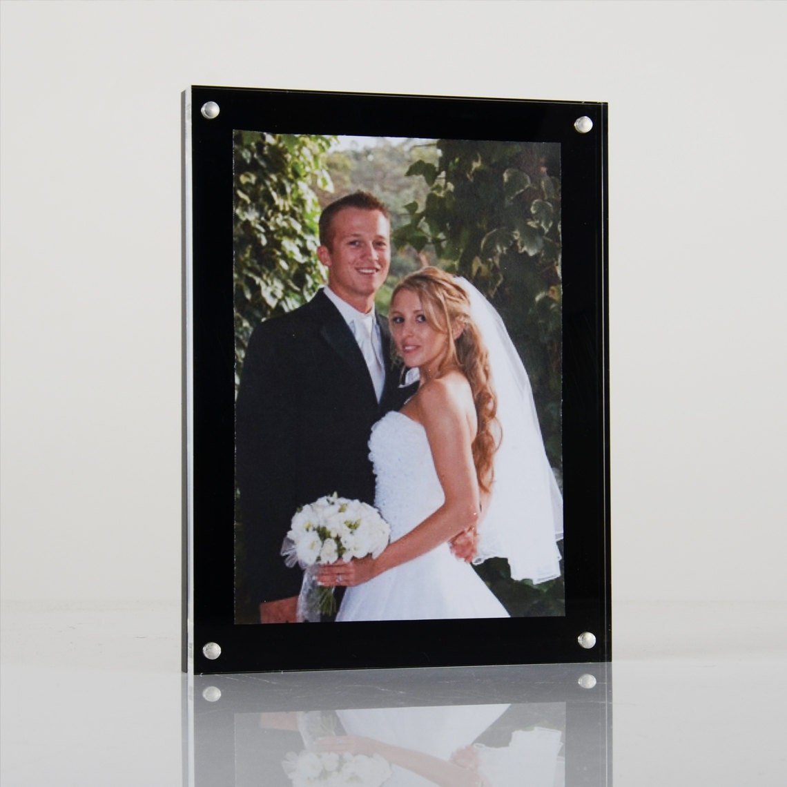 Acrylic magnetic perspex picture frame photo frame sign holder sold by luminatiltd jeuxipadfo Image collections