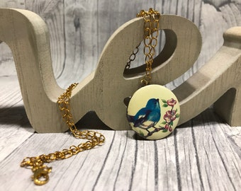 Bird Song Medallion