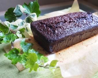 Chocolate Gingerbread Loaf Cake