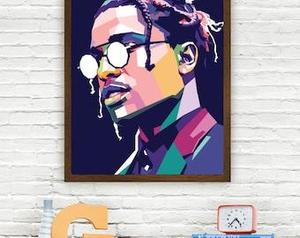 ASAP Rocky Limited Artwork