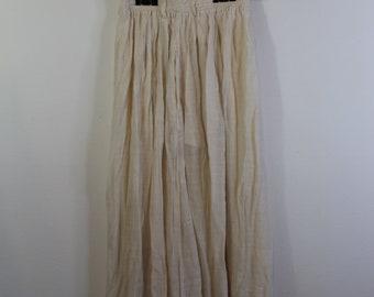 Vintage Sheer Maxi Skirt
