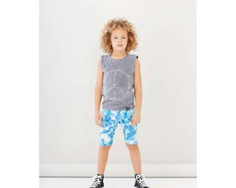 Rocco Shorts Washed Blue