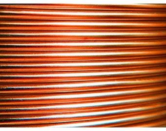 RUSTY wire aluminum 2mm coil 6 m