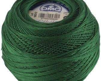 DMC Cebelia Size 10 100% Cotton Crochet Thread - 284 Yards - Color 699 Christmas Green