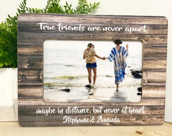 Personalized Friend frame, personalized friend gift, personalized friend, best friend frame, best friend gift idea, Friend Frame,